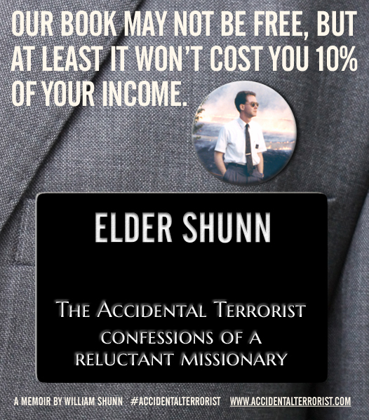 The Accidental Terrorist: Our book may not be free, but at least it won't cost you 10% of your income.
